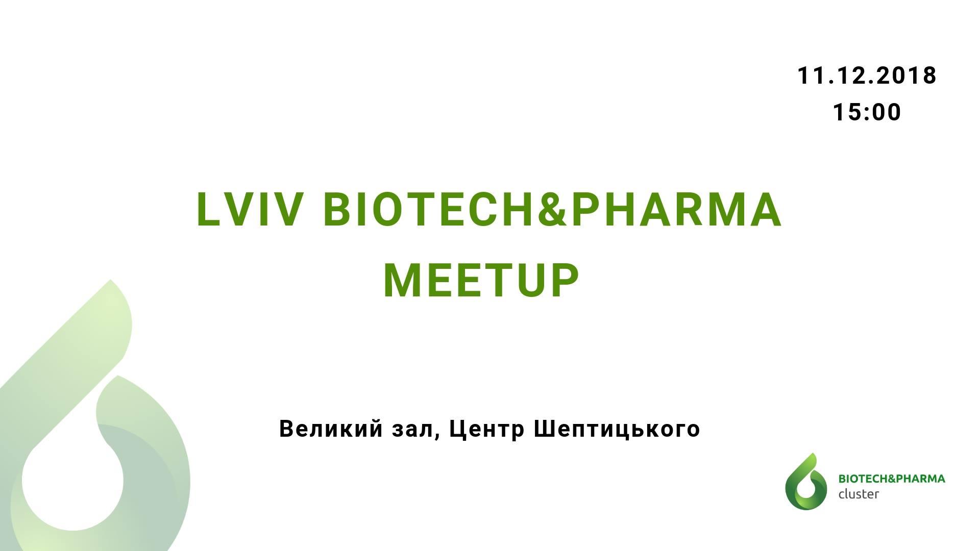 Lviv Biotech&Pharma Meetup