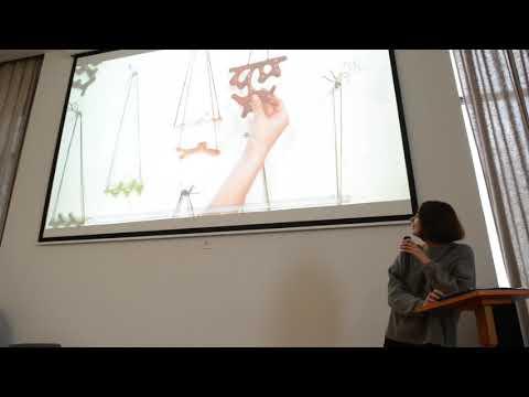 Roksolana Hudoba | From the artist to the entrepreneur | CreativeMornings/LVV