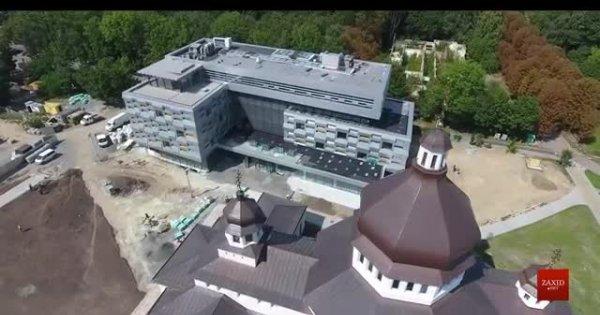 Як виглядає нова бібліотека УКУ. Аерозйомка