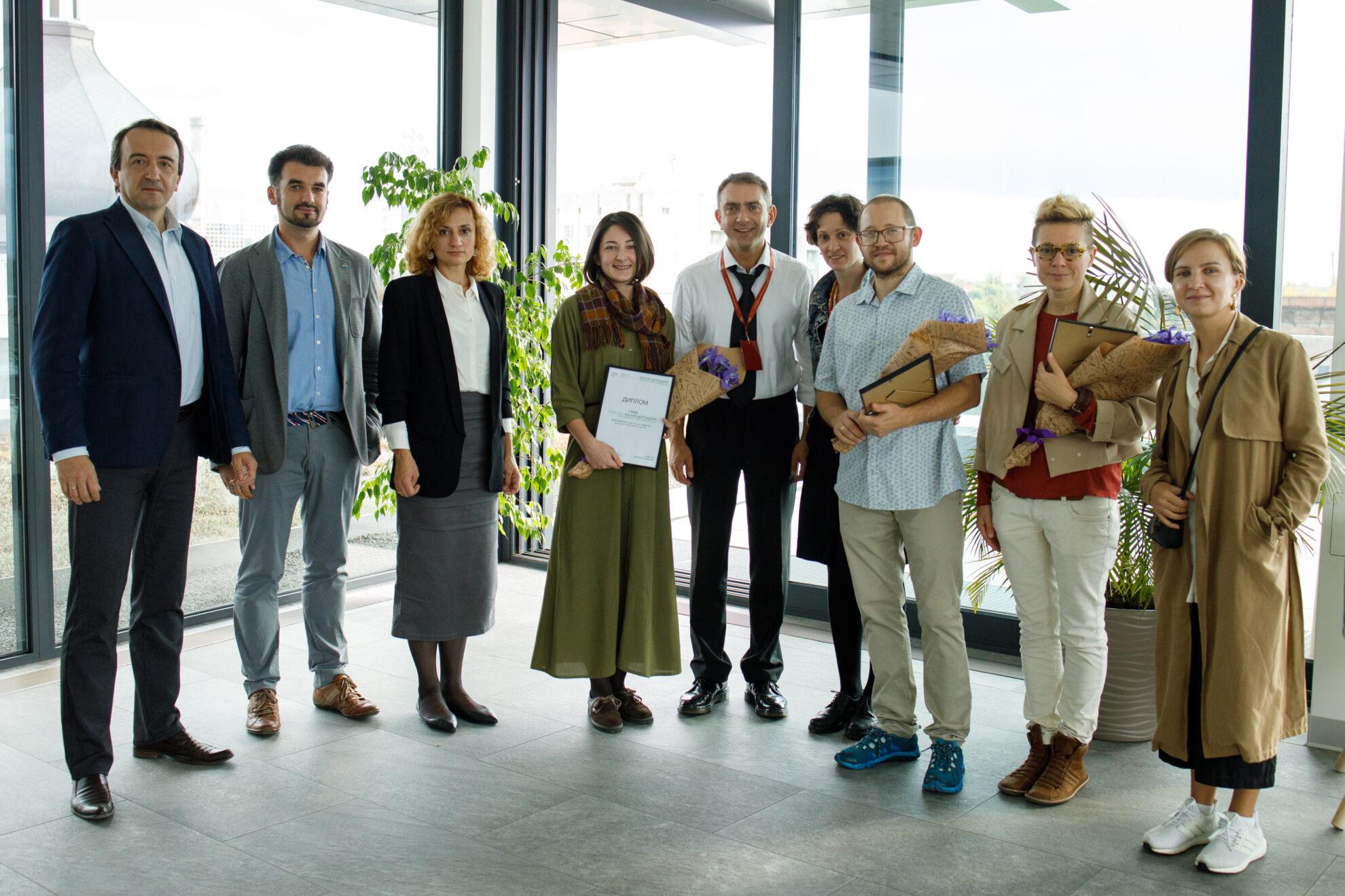 Нагородження переможців Open Call в рамках Бієнале Шептицький